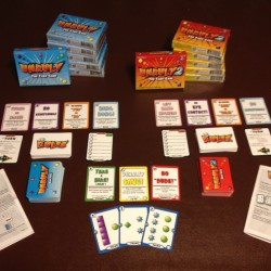 The very latest batch of Unruly prototype decks!